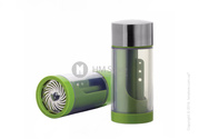 Мельница для трав Microplane Specialty 2 in 1 Herb Mill Family,  Green